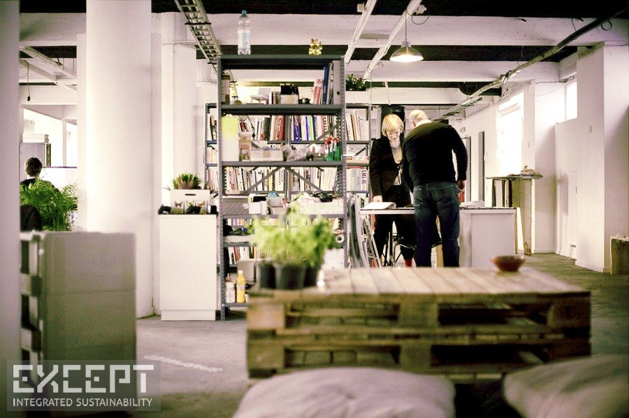 Loft Office Reclaimed - The open workspace