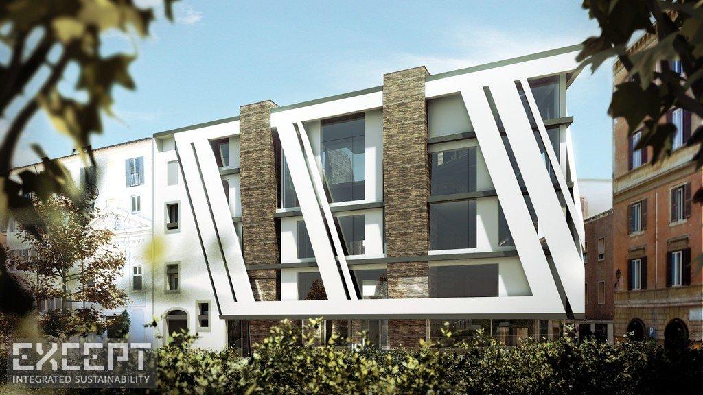 Exterior - Park side building exterior