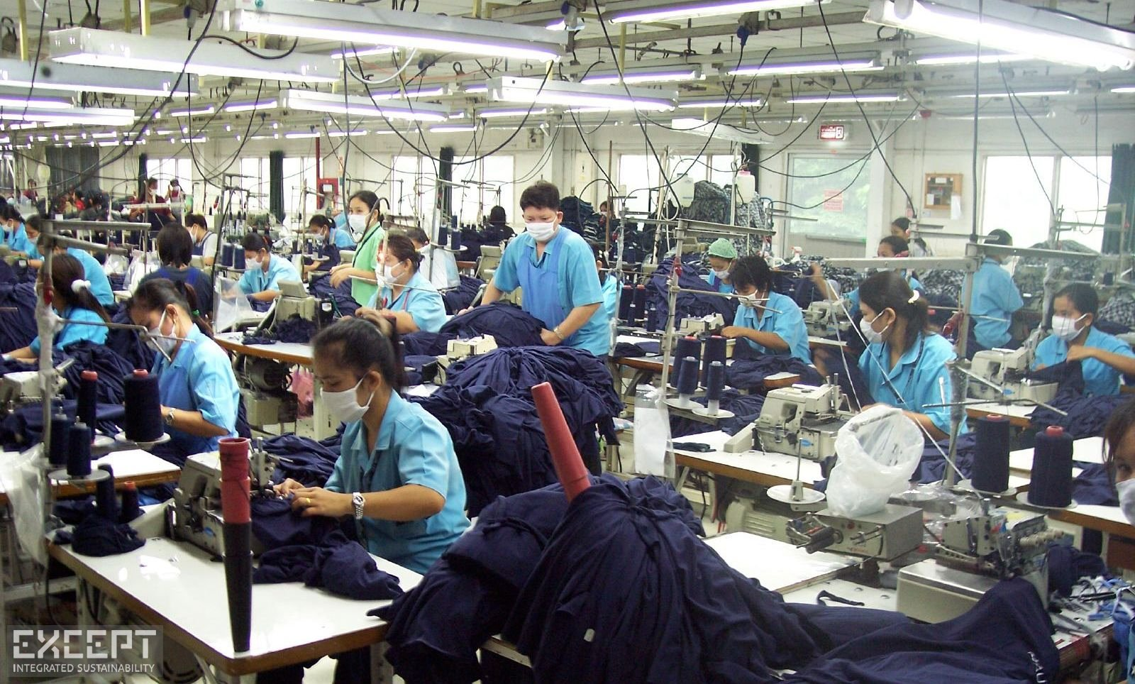 Factory Workers -