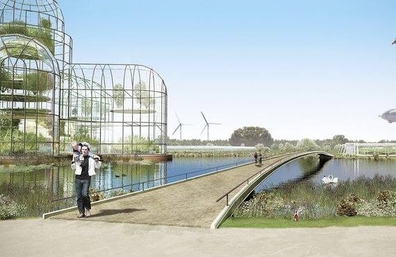 Ecological landscapes as pleasant environments that add value