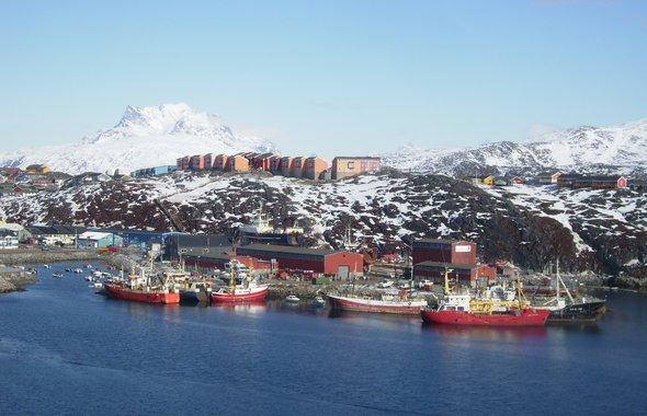 Nuuk, harbor