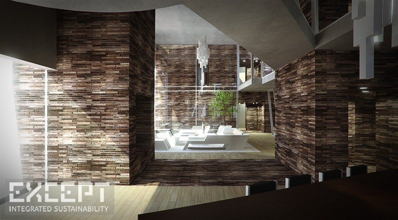 Rome apartments - Architectural Interior