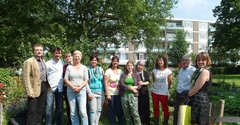 The urban gardens in Schiebroek-Zuid
