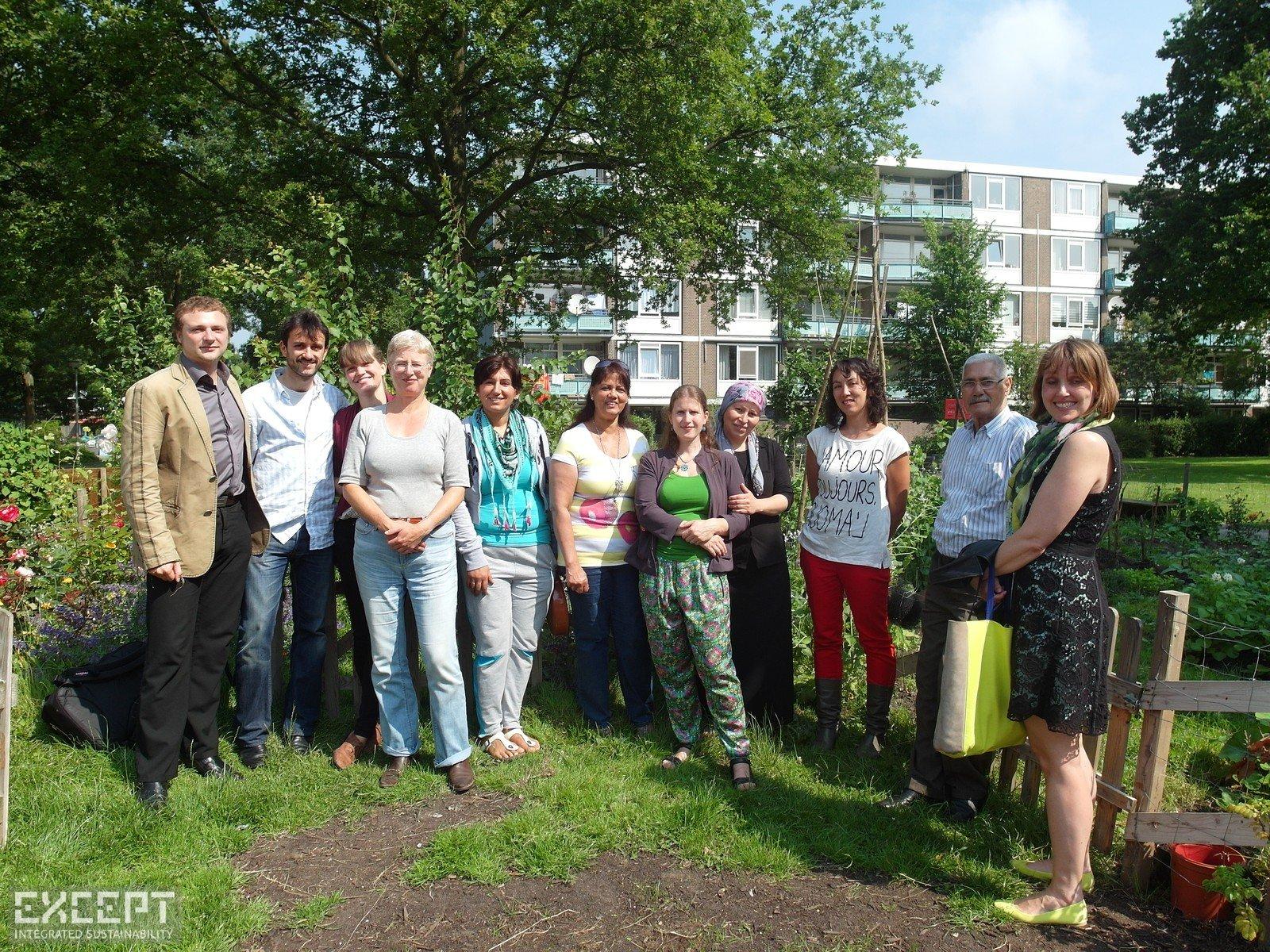 The urban gardens in Schiebroek-Zuid - Some of the people that made the Schiebroek-Zuid urban gardens possible