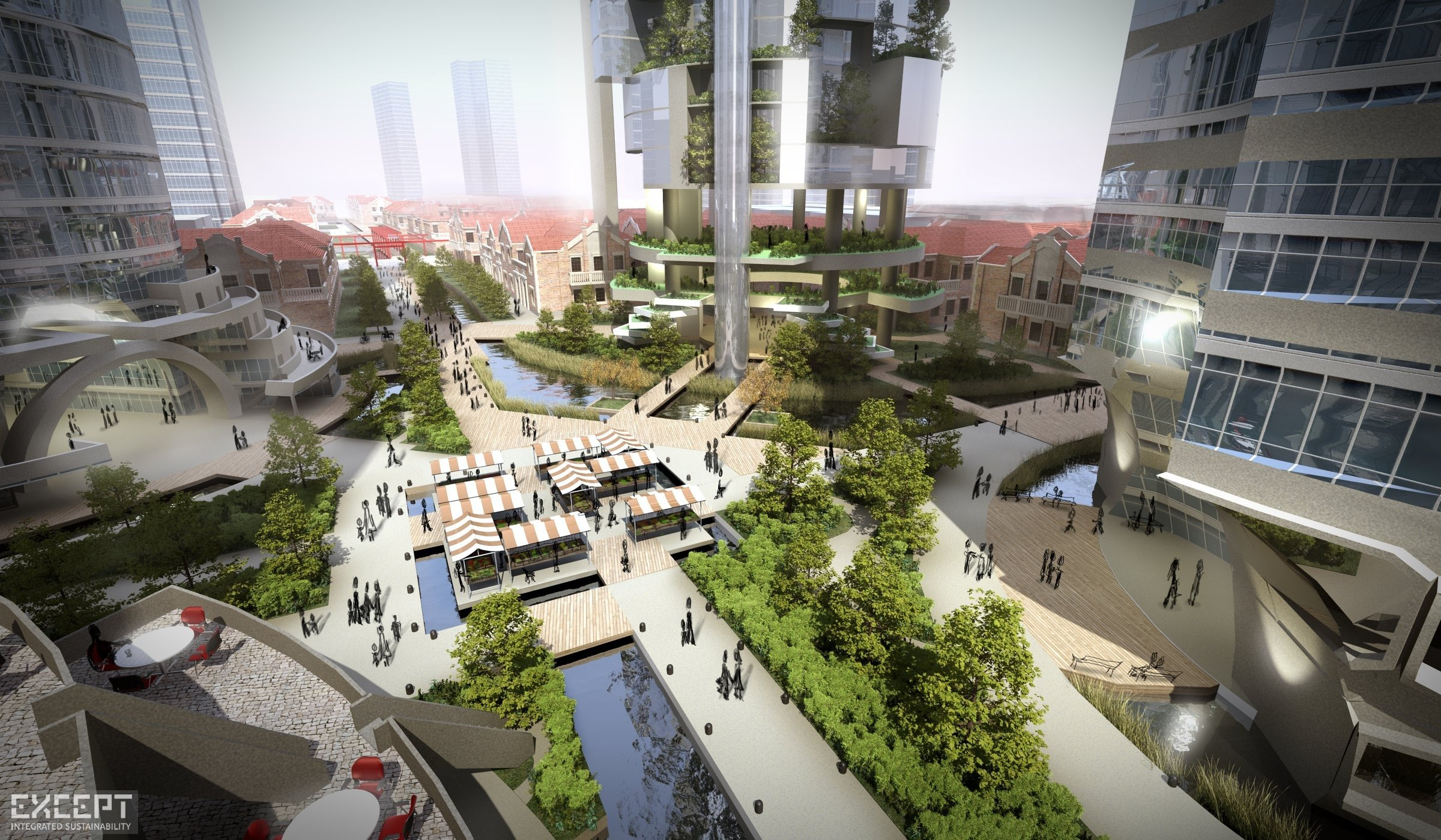 Shanghai Sustainable Masterplan - Future vision of a new Shanghai