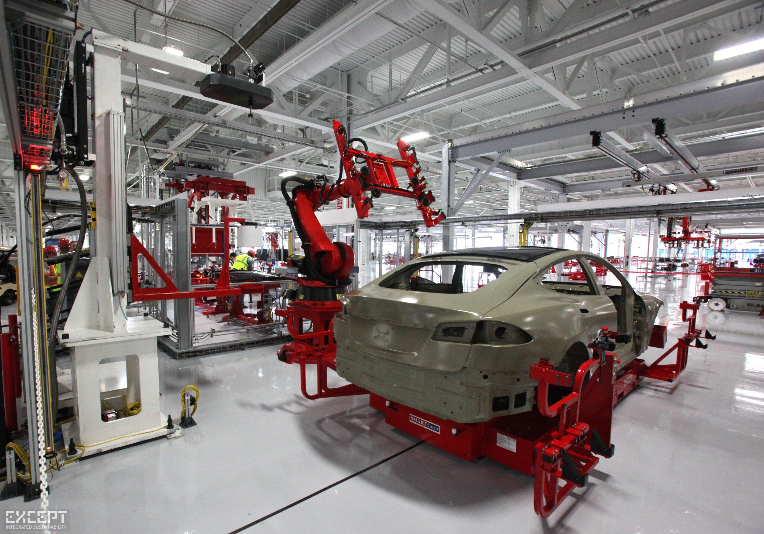 Tesla autos -