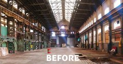 Before - Industrial Warehouse