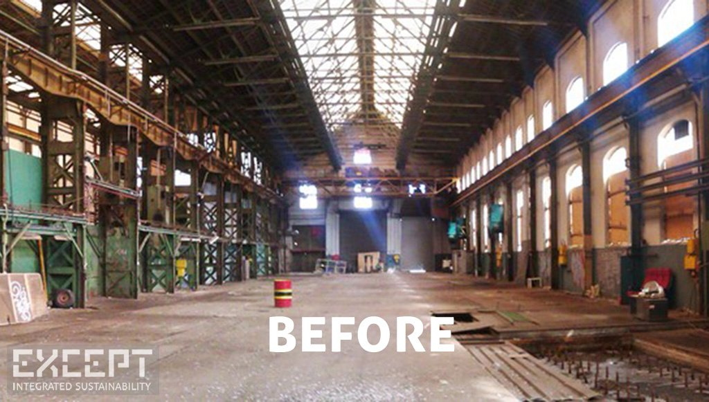 Before - Industrial Warehouse - Typical monumental industrial warehouse