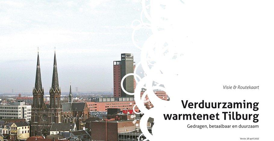 Visiebrochure Verduurzaming Warmtenet Tilburg