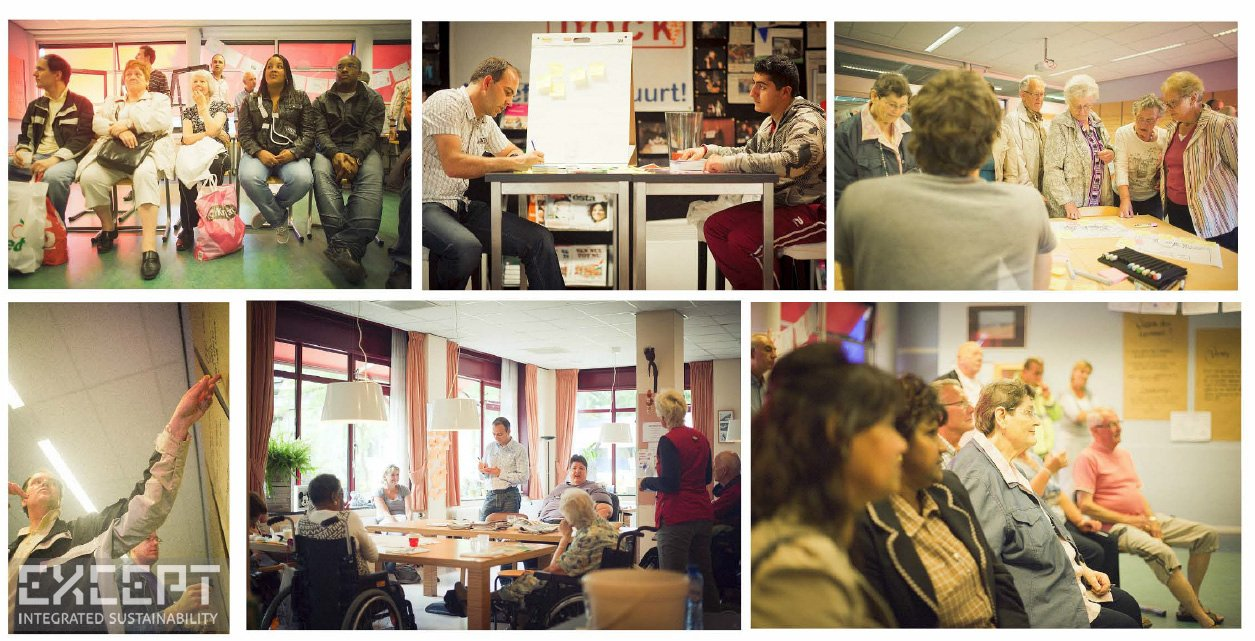 Community sessions - Our work with the community, who cooperated with us throughout the process