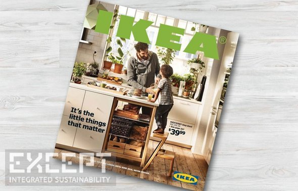 Except Integrated Sustainability Ikea Catalogue Story Of Print