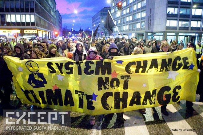 system change -