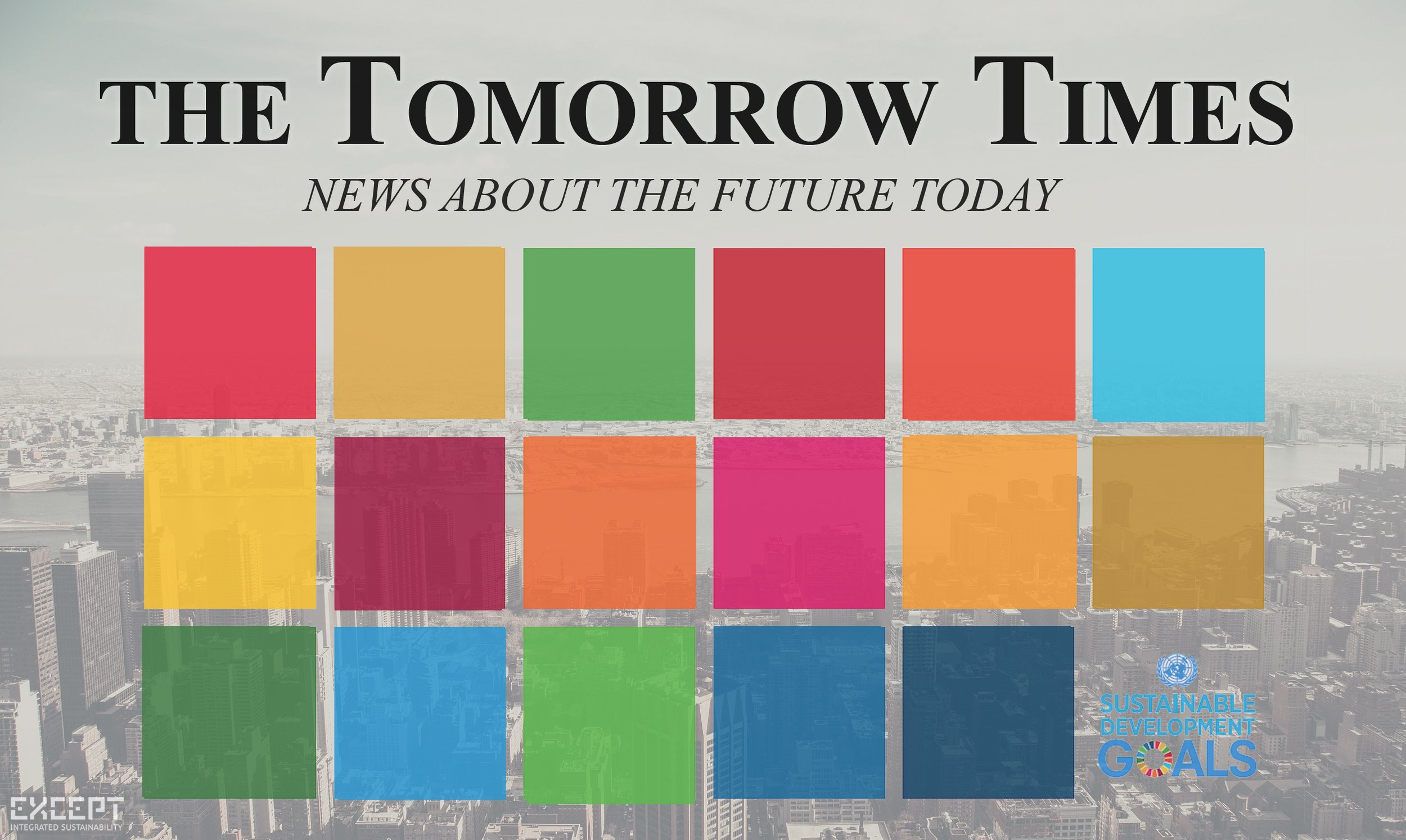 Sustainable Developments goals EMAIL the Tomorrow Times March 19 -