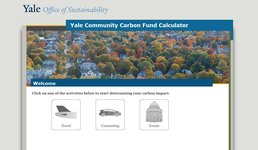 Yale Co2 Calculator